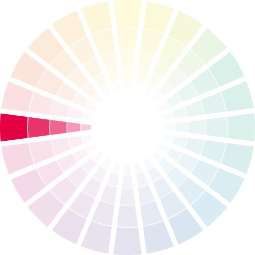 同系色の配色