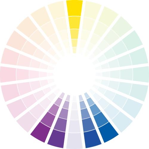分裂補色(スプリットコンプリメンタリー)の配色