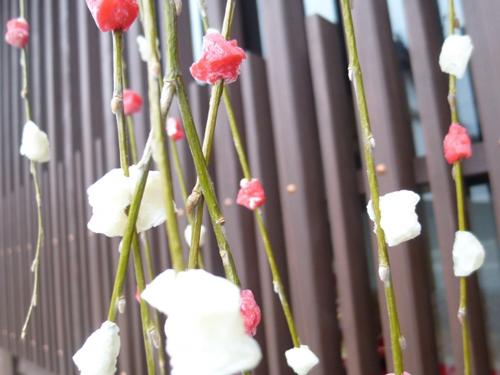 お正月の花・餅花
