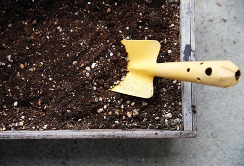 園芸土のリサイクル