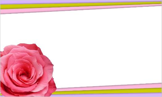 バラの敬老の日用カード・文字なし